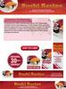Thumbnail Sushi Recipe Website Template Plr Pack