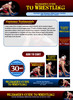 Thumbnail Wrestling Website Template Plr Pack