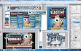 Thumbnail Affiliate Blogging Secrets Unflattened RAW PSD Graphics Set