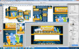 Thumbnail Facebook Profits PSD Templates - Quality Unflattened PSDs Pack