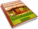 Thumbnail How to Have the Best Backyard: Grass and Landscaping Solutions PLR Reports