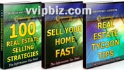 Thumbnail Real Estate Unrestricted PLR Ebook Package