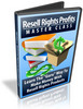 Thumbnail Resell Rights Profits Master Class Video Course - MRR
