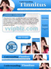 Thumbnail Tinnitus Website Template Plr Pack