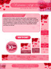 Thumbnail Valentine Gift Website Template Plr Pack