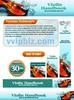 Thumbnail Violin Website Template PSD Graphics - Plr Pack