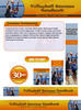 Thumbnail Volleyball Website Template PSD Graphics - Plr Pack
