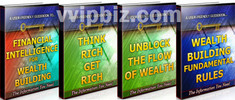 Thumbnail Wealth Building Unrestricted PLR Ebook Package