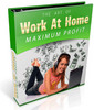 Thumbnail Work at Home Maximum Profits PLR Ebook Package