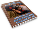 Thumbnail How to Beat Insomnia: Solve Your Sleep Problems PLR Reports