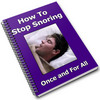 Thumbnail How to Stop Snoring PLR Reports