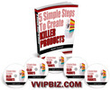 Thumbnail 5 Simple Steps To Create Killer Products- eBook and Videos (MRR)