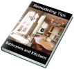 Thumbnail Remodeling Tips for Bathrooms and Kitchens PLR Reports
