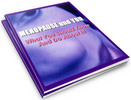 Thumbnail Menopause: What You Should Know and Do About It PLR Reports