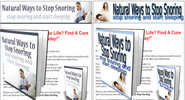 Thumbnail Natural Ways to Stop Snoring MRR Ebook