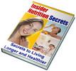 Thumbnail Insider Nutrition Secrets PLR Ebook