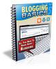 Thumbnail Blogging Basics PLR Listbuilding Package