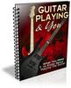 Thumbnail Guitar Playing PLR Listbuilding Pack