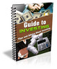 Thumbnail Guide To Investing Report with PLR