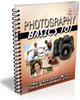 Thumbnail Photography Basics 101 PLR