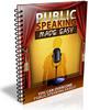 Thumbnail Public Speaking Made Easy PLR