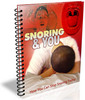 Thumbnail Snoring and You Report with PLR - Stop Snoring Today