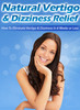 Thumbnail Natural Vertigo & Dizziness Relief MRR eBook