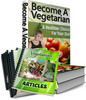 Thumbnail How To Become A Vegetarian PLR Ebook