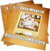 Thumbnail Ways to Boost Your Memory PLR Reports