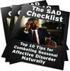 Thumbnail The Seasonal affective disorder (SAD) Checklist PLR Reports