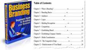Thumbnail Business Branding PLR Ebook