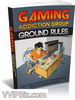 Thumbnail Gaming Addiction Group Ground Rules -MRR