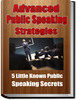 Thumbnail Advanced Public Speaking Strategies PLR Reports