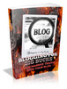 Thumbnail Blogging For Big Bucks MRR/ Giveaway Rights