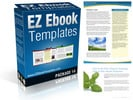 Thumbnail EZ Ebook Templates 14 - PLR