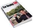 Thumbnail Car Buying Tips PLR eBook