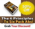 Thumbnail 6 Principles To Six Pack Abs PLR eBook