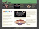 Thumbnail Harley Website Template - PLR