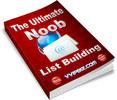 Thumbnail Noob List Building Unrestricted PLR eBook