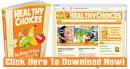 Thumbnail Healthy Eating Niche Wordpress Blog