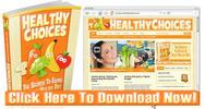 Thumbnail Healthy Eating Niche Wordpress Blog