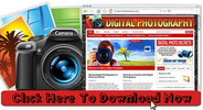 Thumbnail Digital Photography Niche Wordpress Blog