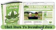 Thumbnail Eco Friendly: Green Living Niche Blog With Matching PLR Ebook
