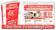 Thumbnail Cardio Workouts Niche Wordpress Blog With Matching PLR Ebook