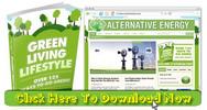 Thumbnail Alternative Energy Niche Blog With Matching PLR Ebook
