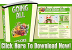 Thumbnail Vegetarian Niche Wordpress Blog With Matching PLR Ebook