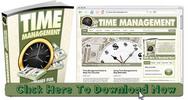 Thumbnail Time Management Niche Wordpress Blog With Matching PLR Ebook