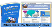 Thumbnail Social Media Marketing Niche Blog With Matching PLR Ebook