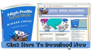 Thumbnail Social Media Marketing Niche Blog With Matching PLR Ebook