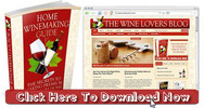 Thumbnail Wine Lovers Niche Blog With Matching PLR Ebook